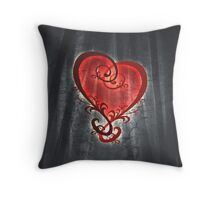 Dark Romance Throw Pillow
