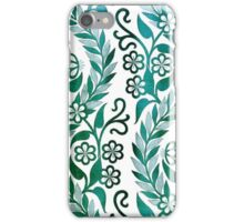 Vintage Floral Embroidery iPhone Case/Skin