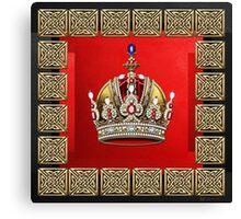 Imperial Crown of Austria Canvas Print