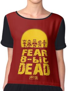 Fear the 8-bit dead Chiffon Top