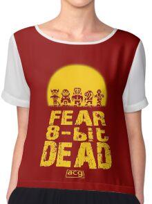 Fear the 8-bit dead Chiffon Top