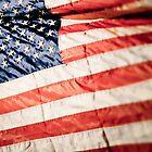 American Flag by Debbra Obertanec