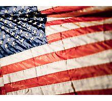 American Flag Photographic Print
