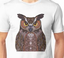 Great Horned Owl 2016 Unisex T-Shirt