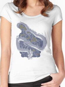 Hanzo's Tattoo Women's Fitted Scoop T-Shirt