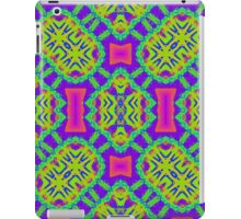 Lively kaleidoscope pattern iPad Case/Skin
