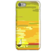 So small on the water iPhone Case/Skin