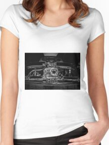 Supper Charged Women's Fitted Scoop T-Shirt