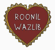 Roonil Wazlib Harry Potter Kids Tee