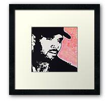 Chris Breezy Framed Print