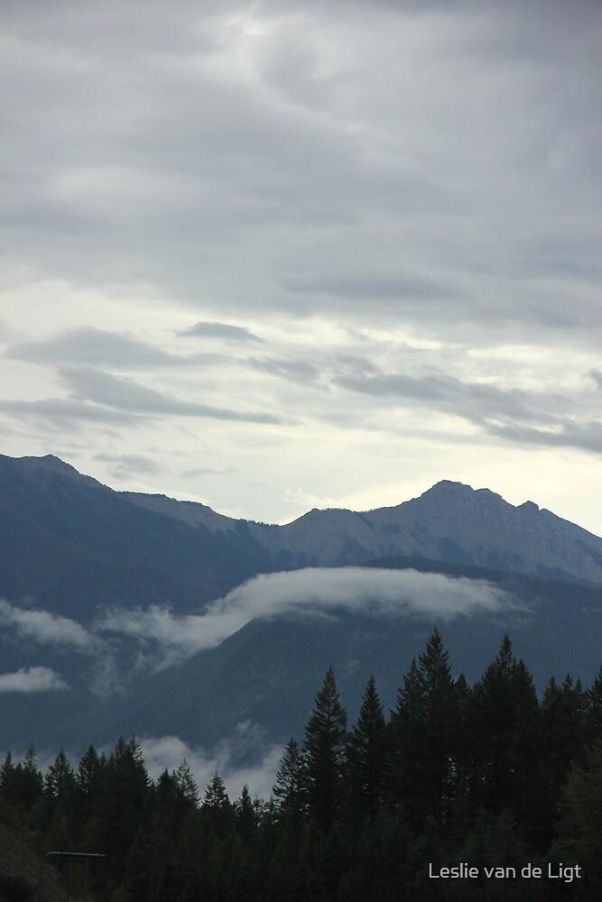 Misty Mountains by Leslie van de Ligt
