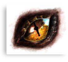 Fire Dragon Eye Canvas Print