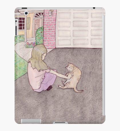charlotte in the driveway iPad Case/Skin