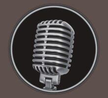 Old Vintage Microphone Baby Tee