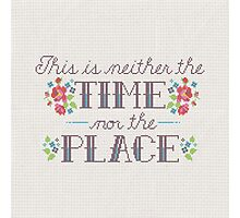 Neither the Time Nor Place Photographic Print