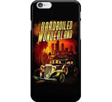 Hardboiled Wonderland Film Noir Design iPhone Case/Skin