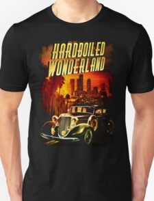 Hardboiled Wonderland Film Noir Design Unisex T-Shirt