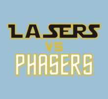 Lasers VS Phasers Baby Tee