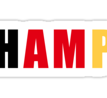 Germany: The Champions Sticker