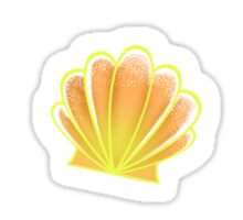 Orange Shells Sticker