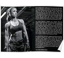 Unbreakable Woman Poster