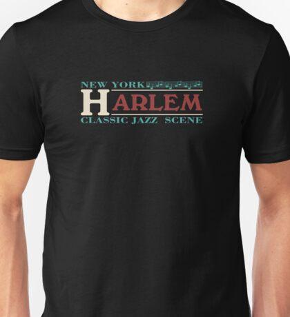 Harlem jazz music Unisex T-Shirt