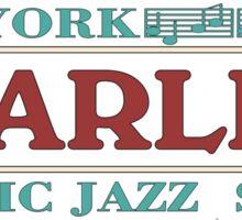 Harlem jazz music Sticker