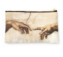 Michaelangelo - Sistine Chapel - Creation of Adam Studio Pouch