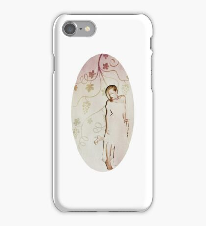 Gillian Anderson + Grape vines  iPhone Case/Skin
