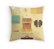 Moonrise Kingdom: Collection Print Throw Pillow