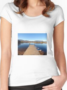 Jetty view Women's Fitted Scoop T-Shirt