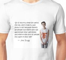 Joe Sugg - WEIRDNESS Unisex T-Shirt