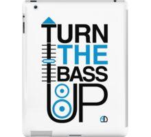TURN THE BASS UP - Crossfader & Speaker DJ, Dark iPad Case/Skin