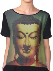 Golden Buddha Chiffon Top
