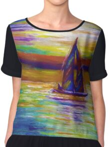 Nightboat Chiffon Top