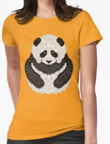 Little Panda Womens Fitted T-Shirt