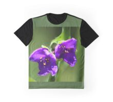 Virginia Spiderwort - Tradescantia virginiana Graphic T-Shirt