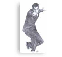 Doctor Who David Tennant Canvas Print