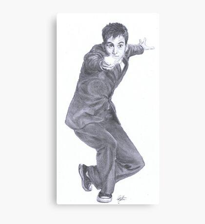 Doctor Who David Tennant Canvas Print