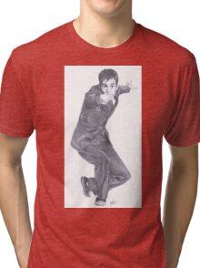 Doctor Who David Tennant Tri-blend T-Shirt
