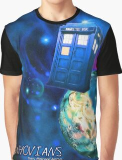 Whovians Best Facebook Group Art Dedication (07/2016) Graphic T-Shirt