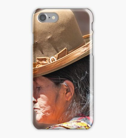 Reflective Bowler iPhone Case/Skin