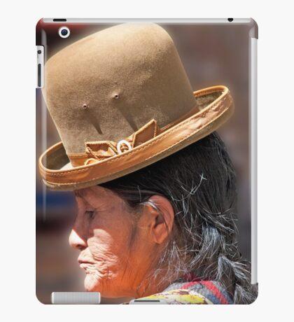 Reflective Bowler iPad Case/Skin