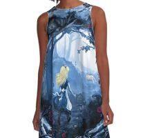 Follow the Rabbit A-Line Dress