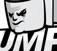 Toilet Paper Mascot Sticker