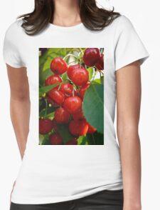 Sweet cherries Womens Fitted T-Shirt