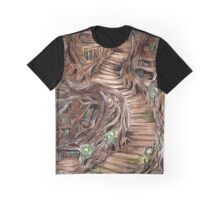 Faerie Library Graphic T-Shirt