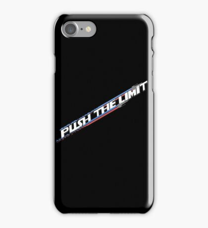 Push the Limit iPhone Case/Skin