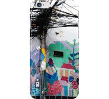 Wires Crossed Corner iPhone Case/Skin