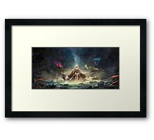 Janna in the jungle Framed Print